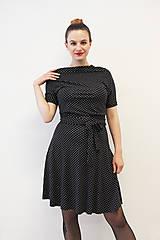 Šaty - VANDA Puntíkovaná - šaty - 10747461_