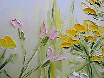 Obrazy - Lúčne trávy - 10747265_