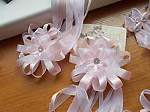 svadobné pierko veľké v ružovom