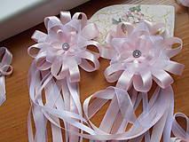 Pierka - svadobné pierko veľké v ružovom - 10746928_