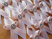 Pierka - svadobné pierko pudrovoRužové - 10746939_
