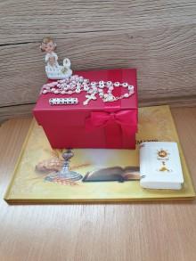 Detské doplnky - Pamiatka- darček na prvé sväté prijímanie - 10745726_