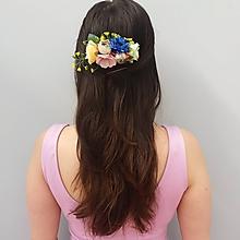Ozdoby do vlasov - Rozkvitnutý hrebienok