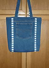 Veľké tašky - Ríflová taška (dva varianty) - 10747054_