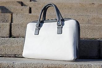 Veľké tašky - Kožená kabelka - Verona - 10745941_