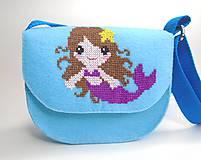 Detské tašky - Moja prvá kabelka (Morská víla) - 10744916_