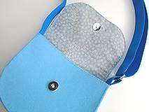 Detské tašky - Moja prvá kabelka (Morská víla) - 10744922_
