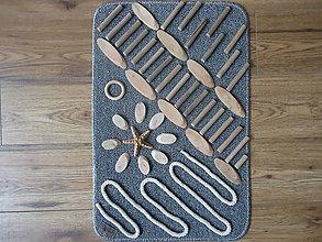 Úžitkový textil - Senzorický koberček CESTA - 10746223_