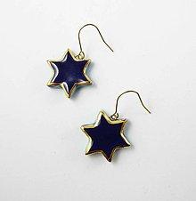 Náušnice - Tana šperky - keramika/zlato - 10745223_