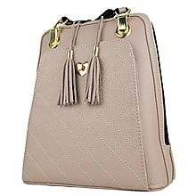 Batohy - Kožený ruksak z pravej hovädzej kože v ružovej farbe - 10744952_