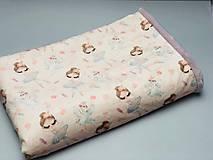 Textil - Plyšový pled, deka - 10745118_