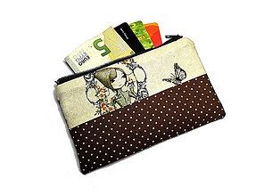 Peňaženky - taštička do kabelky 14,5x8,5cm - 10747140_