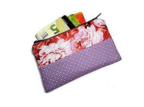 Peňaženky - taštička do kabelky 14,5x8,5cm - 10747734_