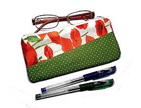 Taštičky - taštička na okuliare/perá/kozmetiku - 10748148_