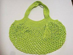 Nákupné tašky - Sieťová taška - 10744968_