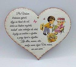 Drobnosti - Srdce k výročiu svadby - 10748286_