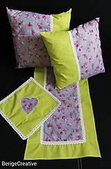 Úžitkový textil - Súprava Evergreen - 10746559_