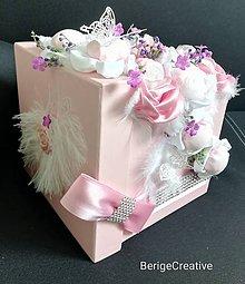 Dekorácie - Kvetinový box Katty - 10746674_