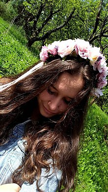 Ozdoby do vlasov - Nežná ružová - 10745062_