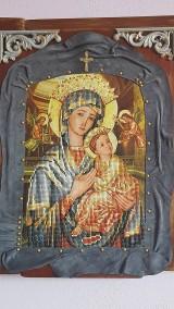 Obrazy - 3D Obraz Mária s Ježiškom - 10744662_