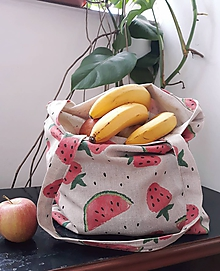 Nákupné tašky - Plátená nákupná taška - 10746312_