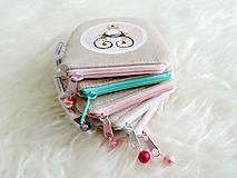 Peňaženky - Peňaženka - dievčatko s ružami - 10748198_