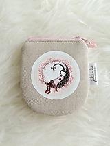 Peňaženky - Peňaženka - dievčatko na mesiaci - 10748237_