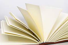 Papiernictvo - Kožený zápisník Dario - 10746170_