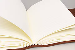 Papiernictvo - Kožený zápisník Georg - 10746712_