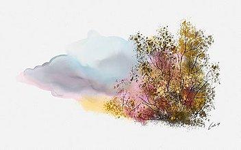 Obrazy - Jeseň(prierez) - 10747069_