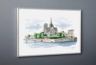 Obrazy - Seine et Paris 2 - 10747090_