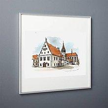 Obrazy - UNESCO Heritage-Bardejov - 10747543_
