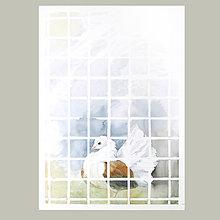 Obrazy - Zamřížovaná - originál, velký akvarel - 10747081_