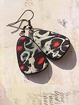 Náušnice - Náušnice krídla - 10751538_