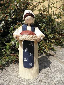 Dekorácie - Šúpolienka s chlebíkom 2 - 10749078_