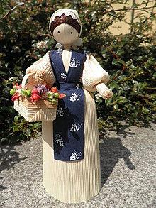 Dekorácie - Šúpolienka - kvetinárka 2 - 10749116_