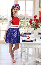 Iné oblečenie - zástera Ľúbezná - 10748741_