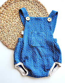 Detské oblečenie - Opaľovačky dvojitá gázovina  (Žltá) - 10750254_