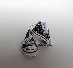 Iný materiál - mini tenisky - 10749852_