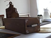 Dekorácie - Debnička s ornamentom - 10749515_