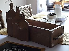 Dekorácie - Sada drevených lopárov - 10749532_