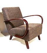 Nábytok - Pohodlné křeslo kávové - 10748845_