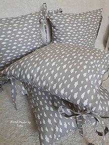 Textil - Vankúš s návliečkou - hniezdo do postele - 10749740_