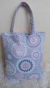 Nákupné tašky - Nákupná taška mandaly - 10751557_