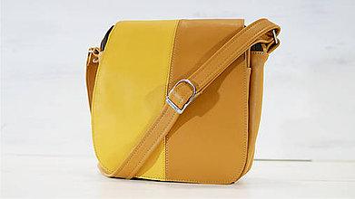 Veľké tašky - Kožená kabelka - Sinta - 10749765_