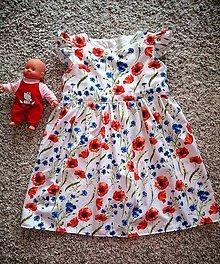 Detské oblečenie - Šaty maky - 10750238_