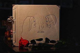 Papiernictvo - Fotoalbum klasický, papierový obal so štruktúrou plátna a personalizovanou vlastnou potlačou na prednej strane (Fotoalbum klasický, papierový obal so štruktúrou plátna a personalizovanou  potlačou na prednej strane (fotka)) - 10749901_