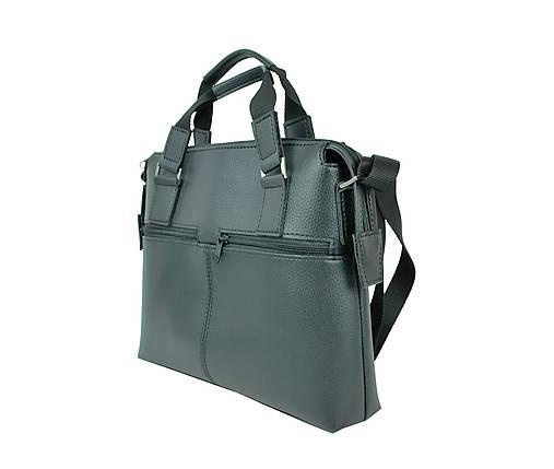 3a6589823 Kožená taška pre notebooky do 13″ v čiernej farbe / Kozena ...