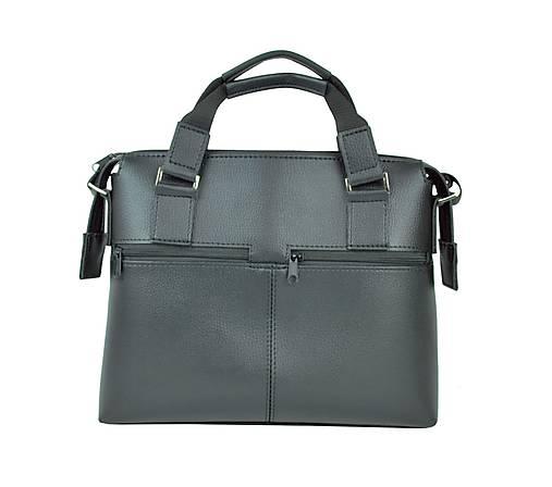 ccea79f7026c9 Kožená taška pre notebooky do 13″ v čiernej farbe / Kozena ...