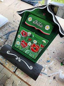 Nádoby - Zelená maková - 10749936_